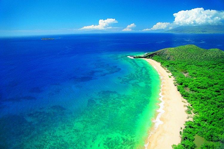 A beautiful coast in Maui.