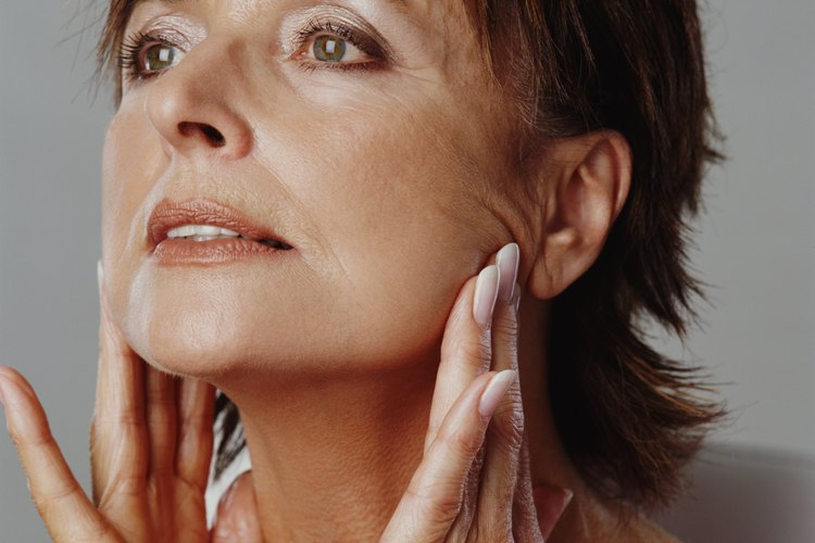 The dark and rough skin of the neck can be caused by several medical afflictions.