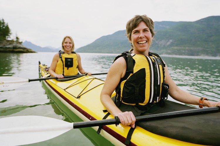 Use kayaks for fishing, inland water sports and ocean kayaking.