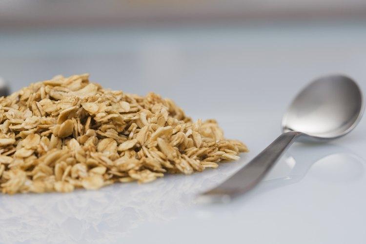 a cuantas cucharadas equivalen 60 gramos de avena