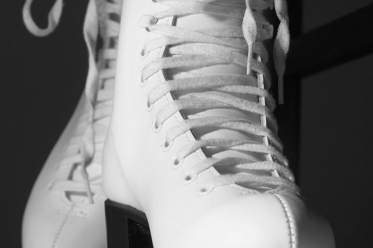 Figure skates help you execute moves like the axel.