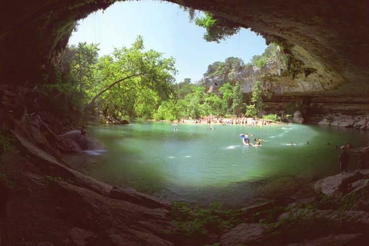Hamilton Pool State Park is near Austin, TX.