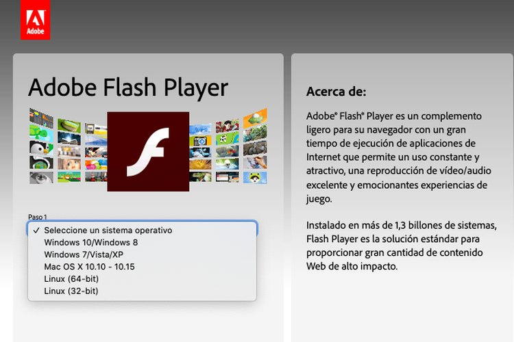 Cómo descargar e instalar Adobe Flash Player 8 gratis