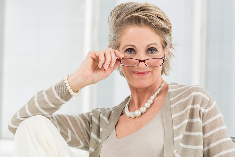 Attractive Eyeglasses For Graying Hair Leaftv