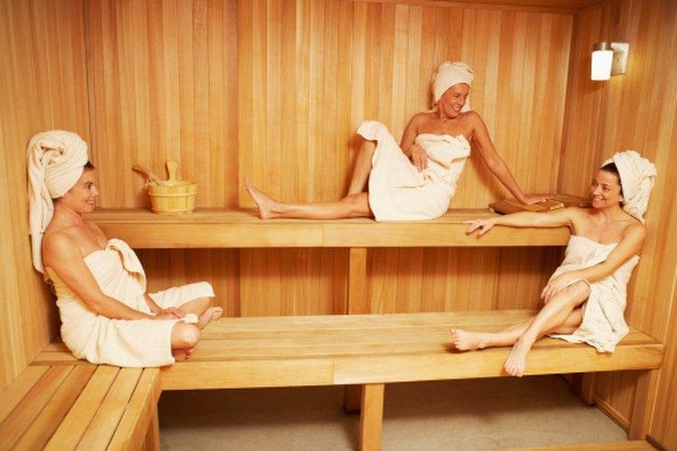 Te ayuda a bajar de peso el sauna