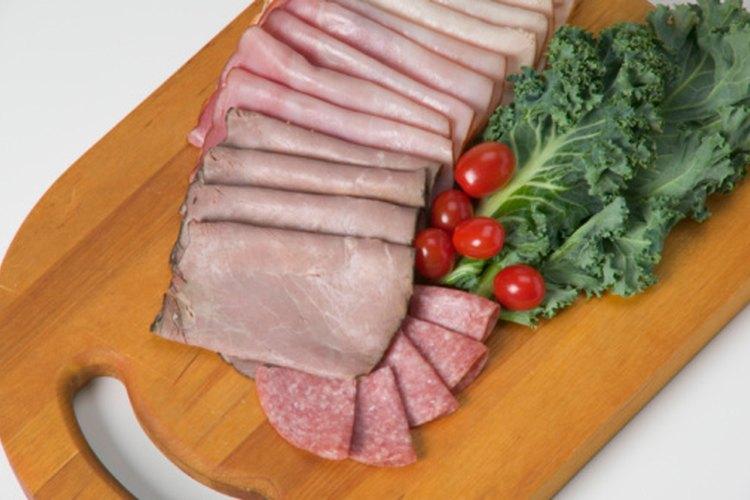 dieta de carne y vegetales