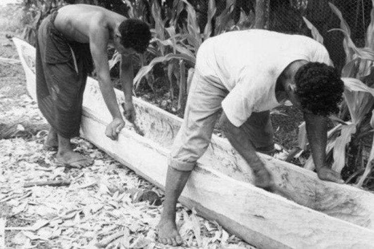 Carving your own canoe can be arduous and time consuming but rewarding.