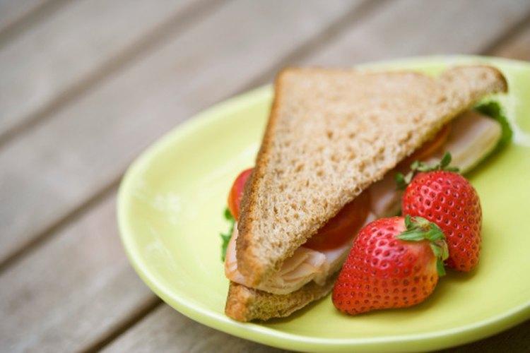 calorias sandwich pan integral pavo