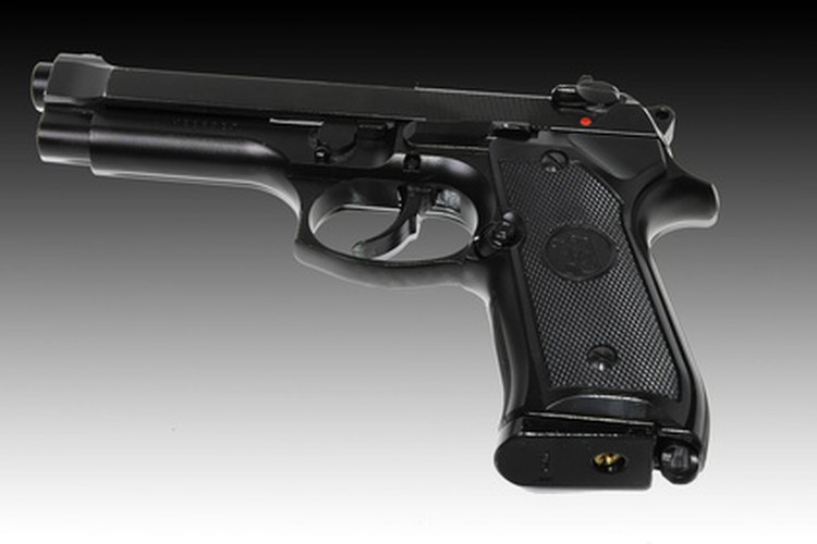 Airsoft guns are often made to look exactly like real guns.
