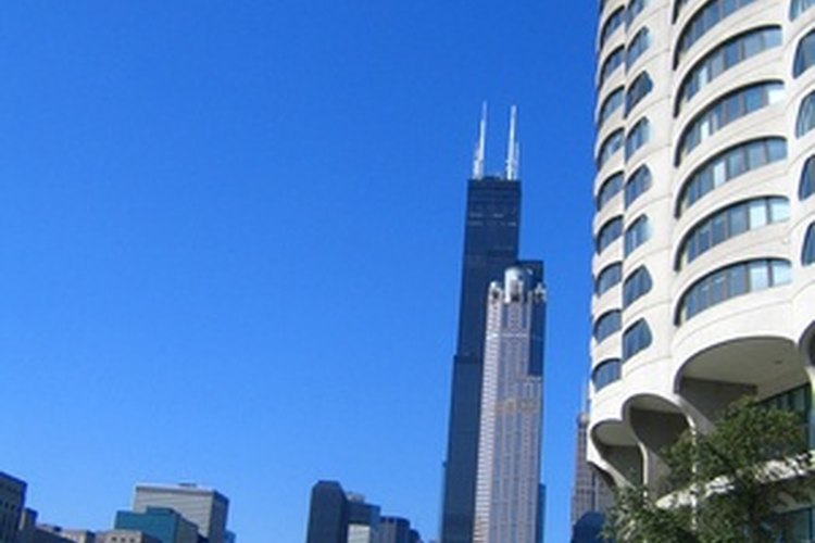 View of downtown Chicago.