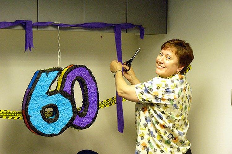 Tu cumpleaños 60 tienes que festejarlo en grande.