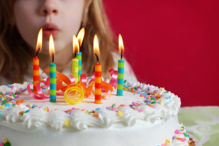 Haz una fiesta espectacular para tu hija de 6 años.