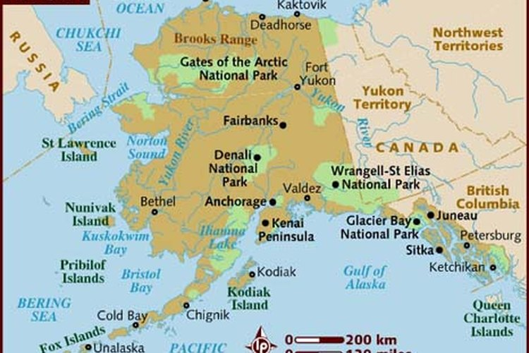 Qué ropa usar en Alaska depende de la zona que visites.