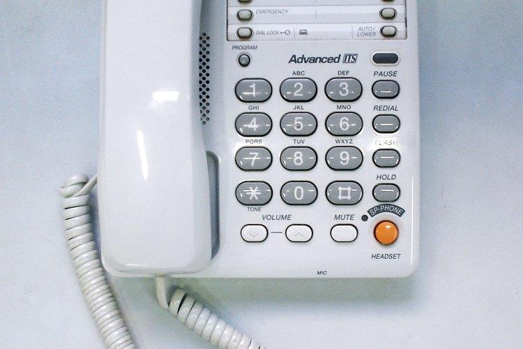 Diagnosticar los problemas del teléfono.