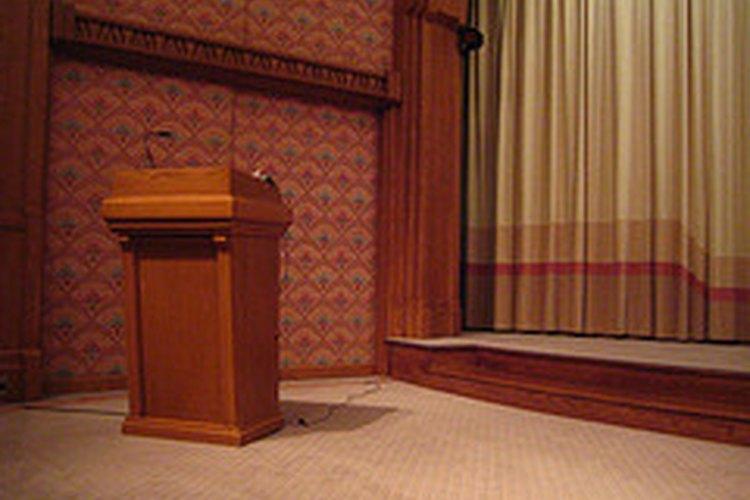 Planea con anticipación el discurso para presidente de tu clase.