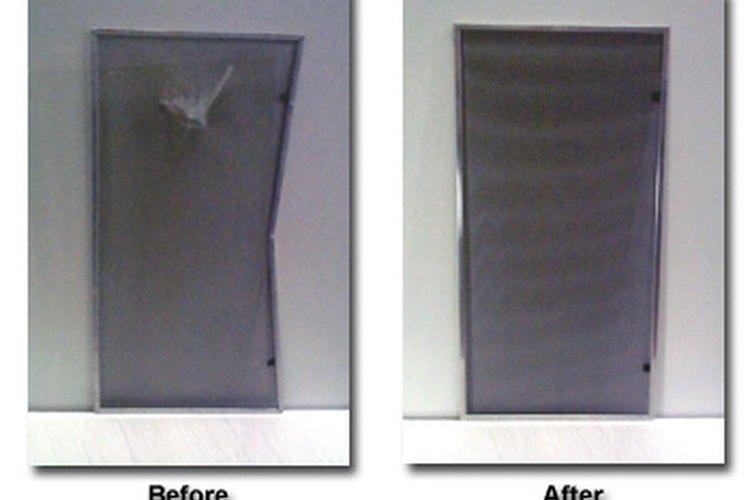 Cómo reemplazar el mosquitero o pantalla de una ventana |