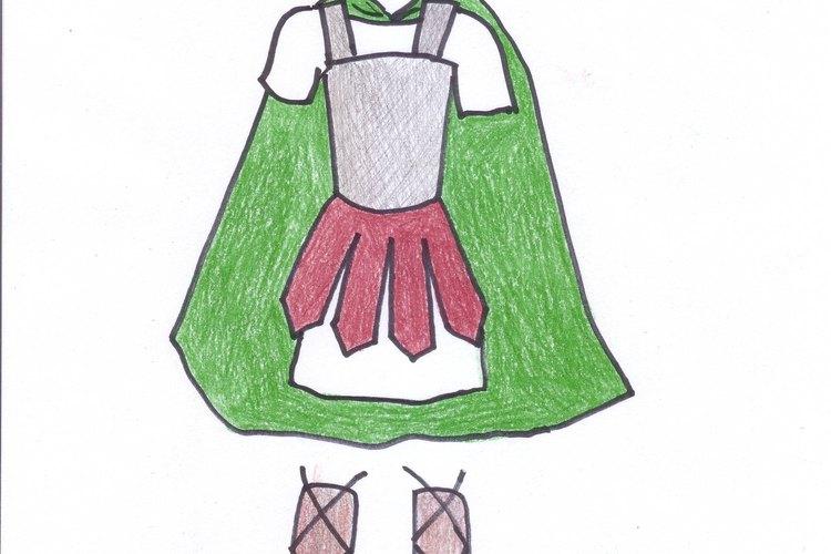 El disfraz de guerrero troyano es sencillo de hacer.