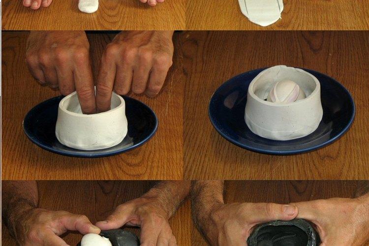 Extrae lentamente el objeto.