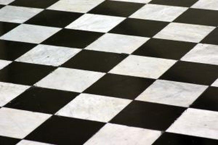 Sigue estos pasos para crear un tablero de ajedrez en tu habitación.