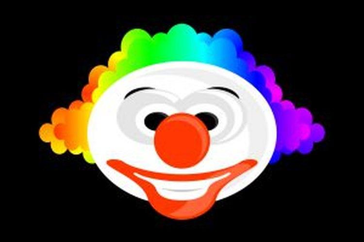 El payaso es el personaje más divertido del circo.