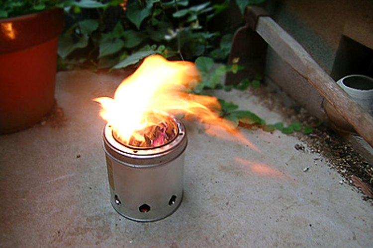 Aprende a hacer una estufa de aserrín.