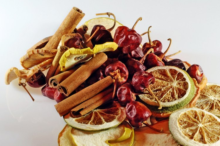 Frutas desecadas.