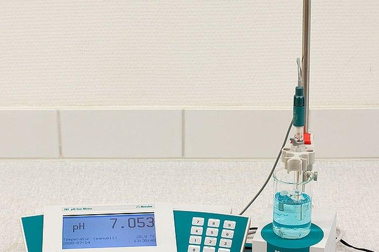 Medidor de pH.