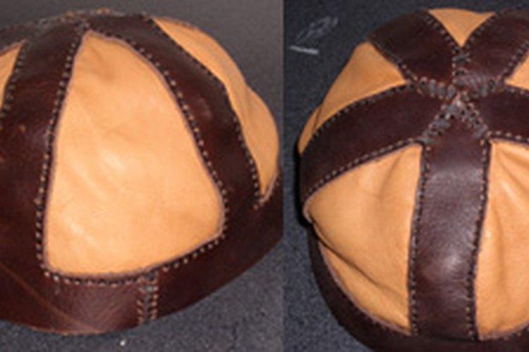 El sombrero de cuero básico.