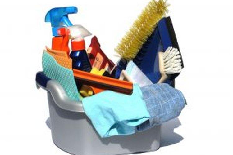 Herramientas para limpiar el latón.