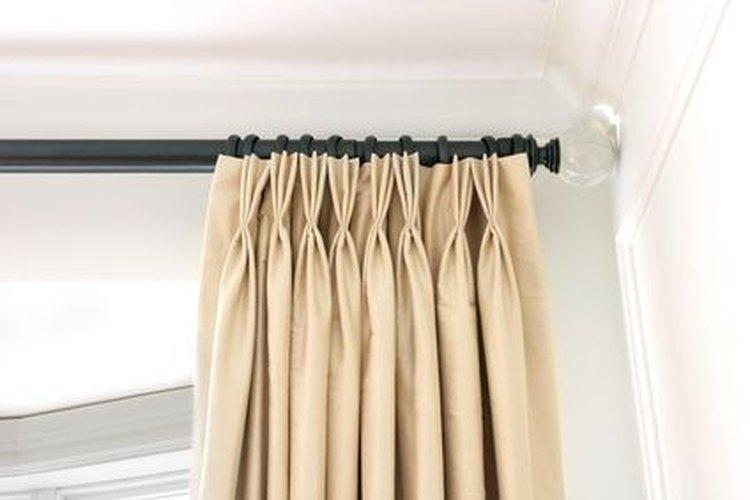 c mo instalar ganchos para cortinas