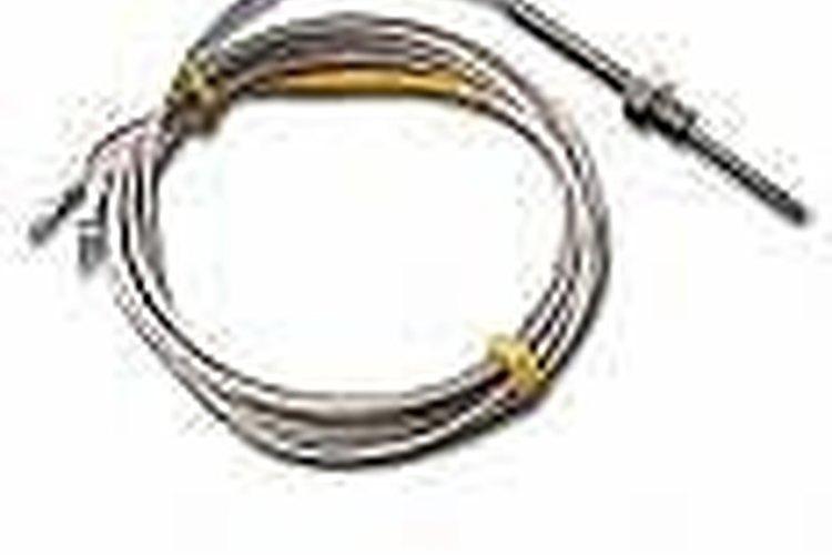 No deseches el cable de termopar, puede contener platino.
