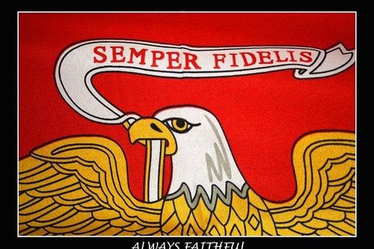 """Semper Fidelis o """"siempre leal"""" es el lema del cuerpo de marines."""