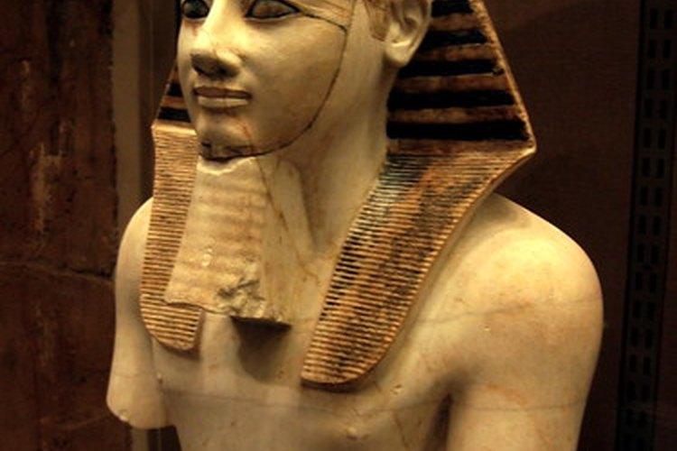 La cultura de las máscaras utilizadas en Egipto.