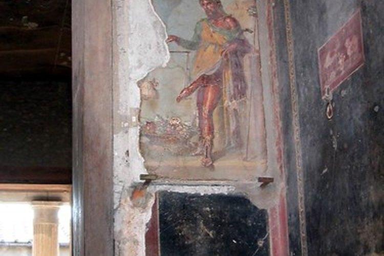 Los frescos y murales de las paredes de Pompeya y Herculano le han proporcionado a los historiadores de arte huellas sobre cómo habrán lucido las pinturas romanas.