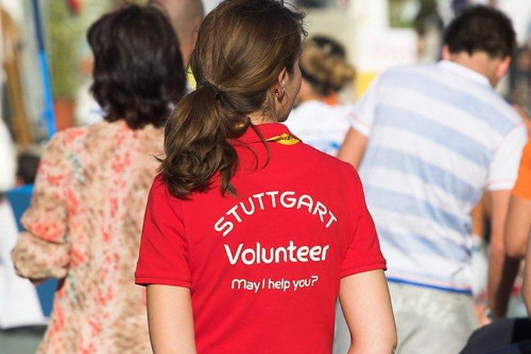 Un voluntario.