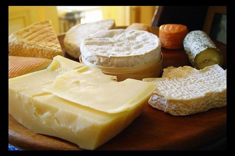 Un surtido de queso.