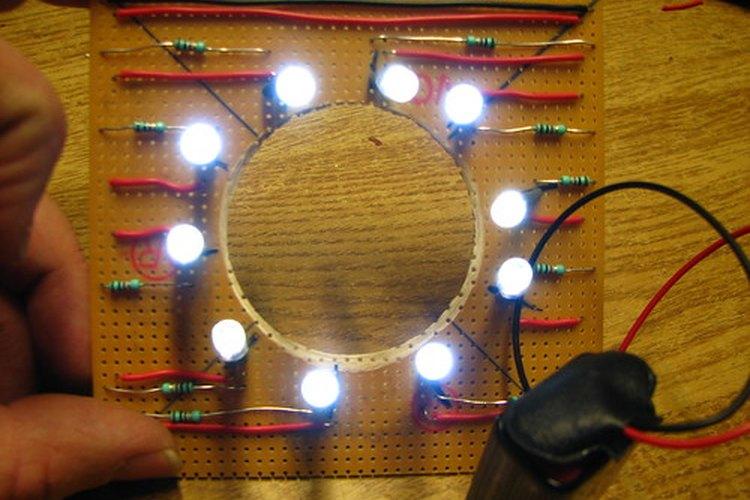 Las luces LED de alta potencia se están volviendo más populares para uso en el hogar.