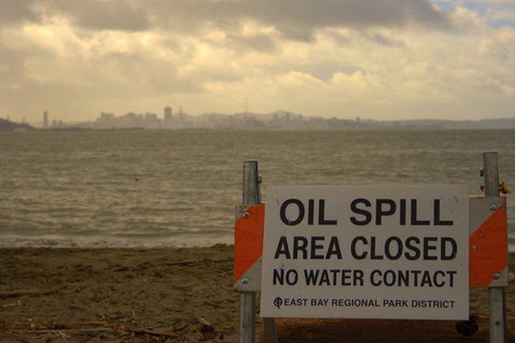 El cabello se ha utilizado para limpiar los derrames de petróleo.