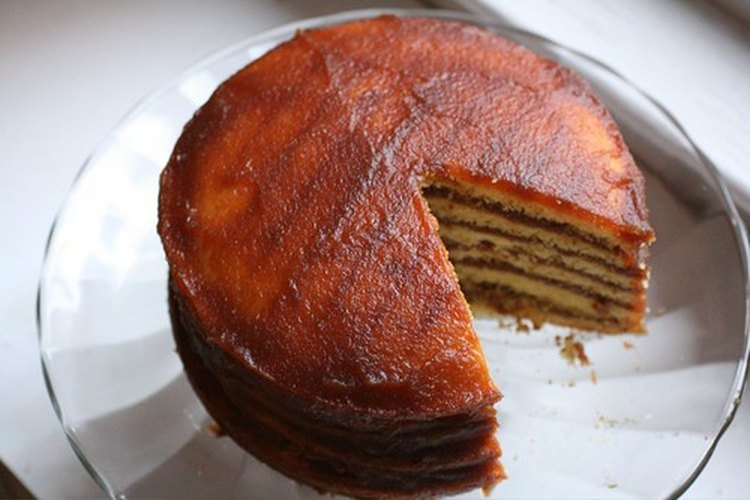 Los pasteles se hacen con un tipo específico de harina llamado harina de respostería.