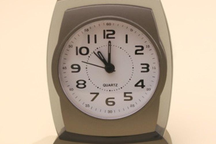Los despertadores modernos son a menudo relojes eléctricos.