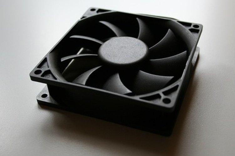 Utiliza el calor del sol para generar un ventilador de refrigeración.