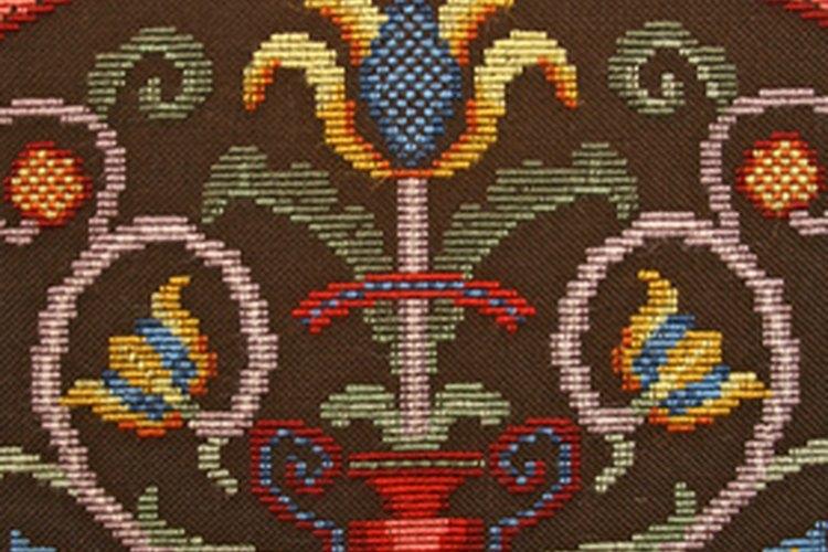 Las ropas tenían elaborados bordados.