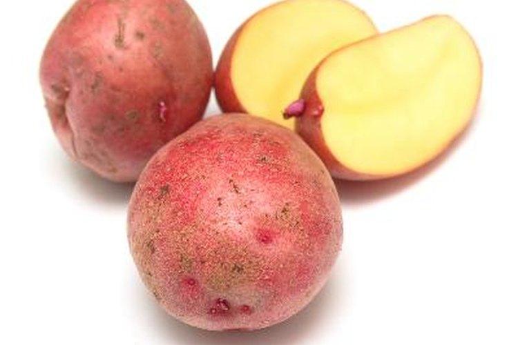 Debido a que las papas cerosas mantienen su forma cuando se hierven, son ideales para sopas de papa gruesas.