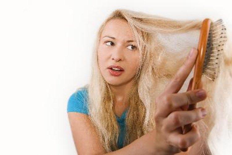 Remedios caseros para el cabello fino.