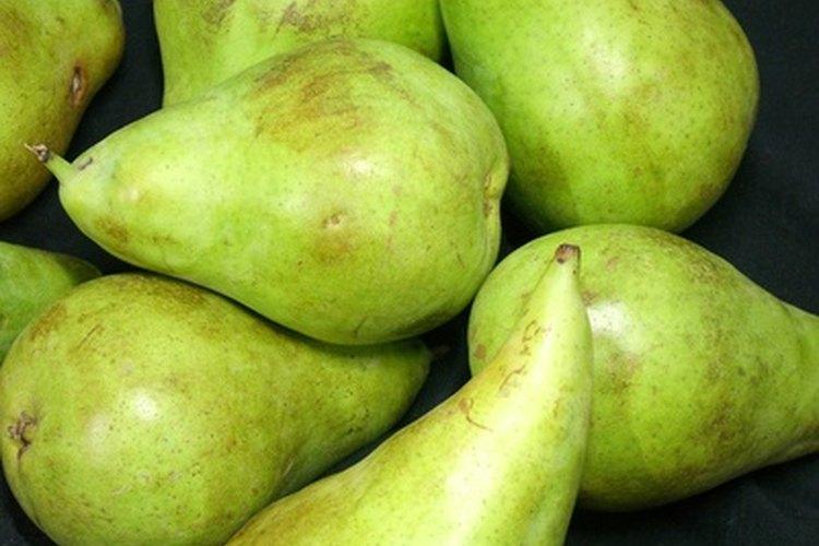 El zinc sirve para proteger a las peras de hongos.