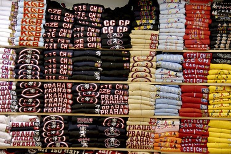 Elige el punto de venta adecuado para las camisetas.