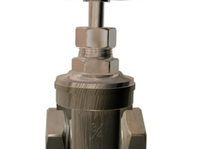 Los vástagos de válvula con roscas controlan el flujo de sustancias con más precisión.