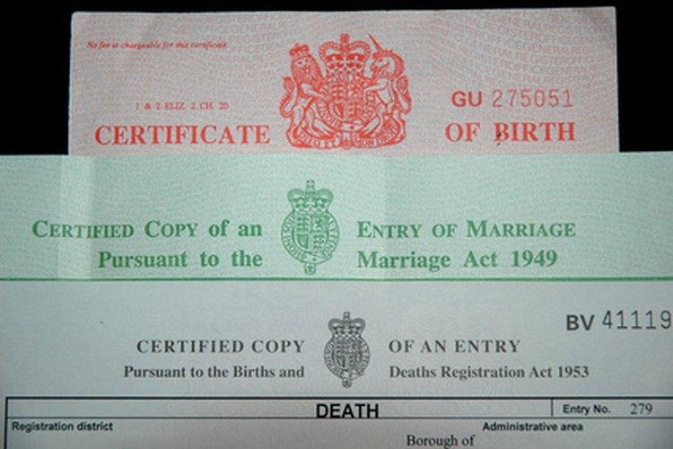 Cómo obtener un certificado de nacimiento en el condado de ...