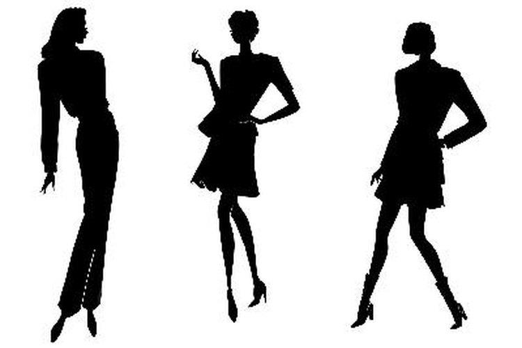 Las siluetas de la moda nos ayudan a distinguir la moda por décadas o era.