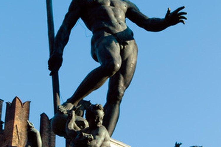 Poseidón se casó con Amphitrite pero fue padre de otros niños.